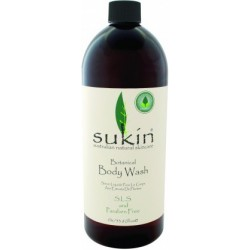 Botanical Body Wash Refill Cap 1 Litre Sukin
