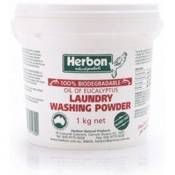 Laundry Washing Powder Fragrance Free Herbon 1kg