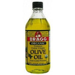 Bragg Olive Oil Cold Pressed Organic 473ml.