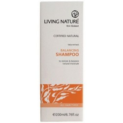 Living Nature Balancing Shampoo 200ml. RRP $31.50 OUR PRICE $25,50