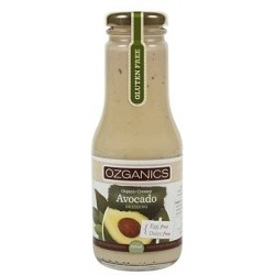 Ozganics Organic Creamy Avocado Dressing G/F 250ml MFH $4.60 RRP $5.70 SAVE $1.10