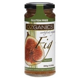 Ozganics Organic Fig Spread G/F 300g MFH $5.10 RRP $6.30 SAVE $1.20