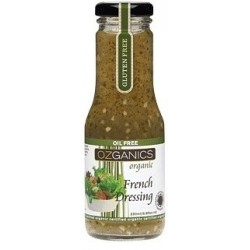 Ozganics Organic French Dressing G/F 250ml MFH $4.60 RRP $5.70 SAVE $1.10