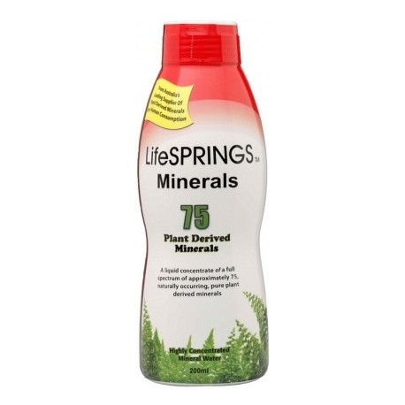 LifeSpringsColloidal Minerals 200ml $23.75