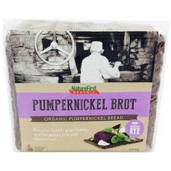 Natures First Organic Long Life Pumpernickel Bread 500g RRP $5.30 SAVE $1.00