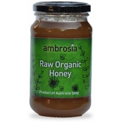 Organic Honey Raw 500g Ambrosia