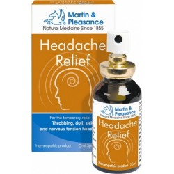 Martin & Pleasance 25ml Headache