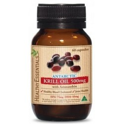 Healthy Essentials Antarctic Krill Oil 500mg 60caps