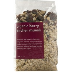Real Good Foods Org Berry Bircher Muesli Bag1.25kg