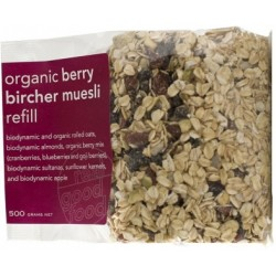Real Good Foods Organic Berry Bircher Muesli Refill 500g