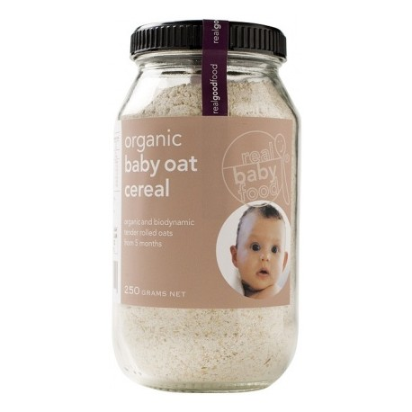 Real Good Foods Organic Baby Oat Cereal 250g