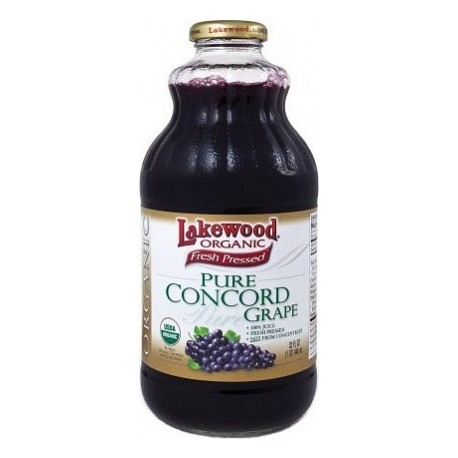 Lakewood Pure Organic Concord Grape 946ml