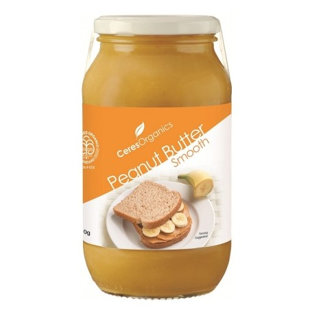 Ceres Organics Peanut Butter Smooth 700gm