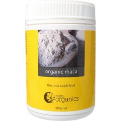 Nutra Organics Maca Powder 300GM