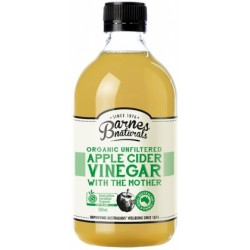 Barnes Naturals Organic Apple Cider Vinegar & the Mother 500ml