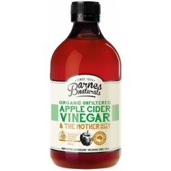 Barnes Naturals Organic Apple Cider Vinegar & Honey & the Mother 500ml