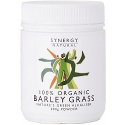 Synergy Organic Barley Grass Powder 200g organic