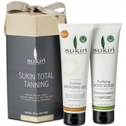 Sukin Christmas Total Tanning (2x200ml) Gift Pack