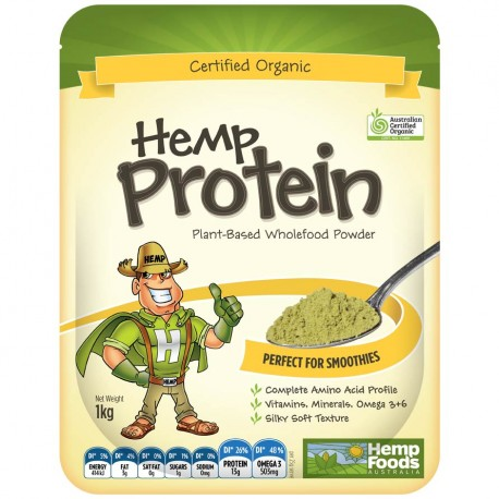 Hemp Protein Powder 1Kg by Hemp Foods Australia