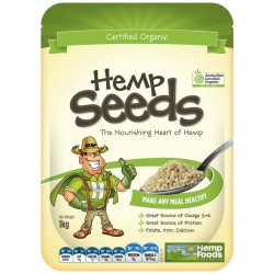 Hemp Seeds Organic Hulled 1kg by Hemp Foods Australia