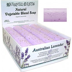 Clover Fields Nature's Gifts Australian Lavender Soap 100g Bar