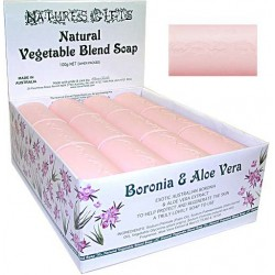 Clover Fields Nature's Gifts Boronia & Aloe Vera Soap 100g Bar
