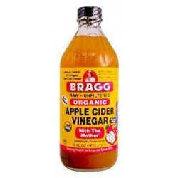 Vinegar Apple Cider Bragg Organic 946ml