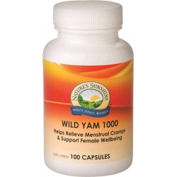 Nature's Sunshine Wild Yam 1000mg 100c