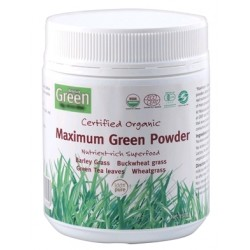 Absolute Green Certified Organic Maximum Green Powder 150g