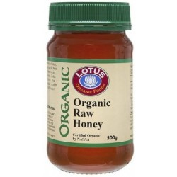 Nature First Raw Organic Australian Honey 500g