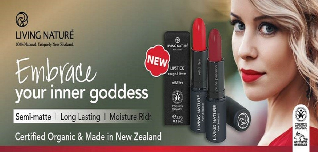 Living Nature Lipstick Range